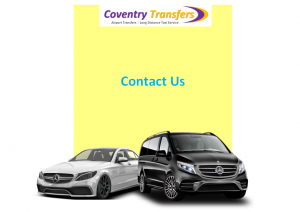 coventry airport transfers - contact us - cv6 7ht