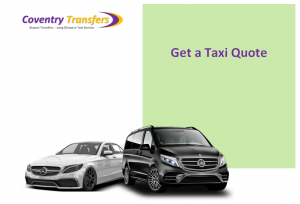 Taxi Coventry to Stansted Airport
